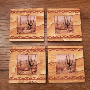 Thirstystone Saguaros Coaster set of four